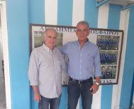 Στο Νησί Αλεξάνδρειας ο Γιώτης Τσαλουχίδης με τον Βασίλη Αντωνιάδη.