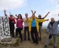 Ορειβάτες Βέροιας Από την κορυφή του Γράμμου   2520 μ. Καλό βράδυ - Καλή νύκτα