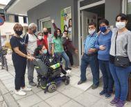 Άμεση ανταπόκριση του Δήμου για την κατασκευή ράμπας στο ΥΦΑΔΙ