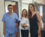 Σε γνώριμο της εργασιακό χώρο, το Νοσοκομείο Βέροιας, βρέθηκε η υποψήφια βουλευτής της ΝΔ, Νίκη Καρατζιούλα (Φωτό)