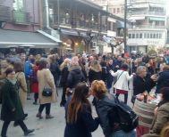 Μια πόλη μια γιορτή με πολύ κόσμο και χορό στη Νάουσα