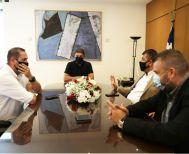 Ολοκληρώθηκε η συνάντηση Λευτέρη Αυγενάκη και με το προεδρείο SL 2 και FL