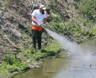 Επαναληπτικός ψεκασμός ULV στο Λαζοχώρι για την αντιμετώπιση των ακμαίων κουνουπιών