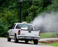 Επαναληπτικός ψεκασμός στην Ν. Νικομήδεια για την αντιμετώπιση των κουνουπιών το βράδυ της Τετάρτης
