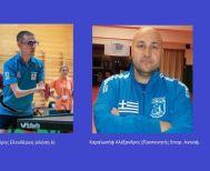 Στην Αθήνα για την προετοιμασία της Εθνικής Ομάδας Επιτρ. Αντισφ. ΑμεΑ Μαύρης και Καραϊωσήφ