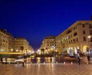 Άγριο ξύλο στο κέντρο της Θεσσαλονίκης (VIDEO)