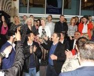 Γεωργία Μπατσαρά στα εγκαίνια του εκλογικού της κέντρου: «Πρώτοι απ' την πρώτη,  πρώτοι και τη δεύτερη Κυριακή»
