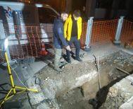 Σε λειτουργία τέθηκε το νέο δίκτυο της ΔΕΥΑΝ  επί της οδού Μεγάλου Αλεξάνδρου