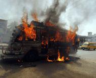Λεωφορεία τυλίχθηκαν στις φλόγες στο Λονδίνο