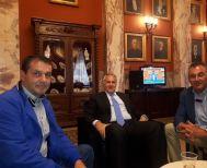 Επί τάπητος τα αγροτικά θέματα της Ημαθίας στη χθεσινή συνάντηση του Συλλόγου Γεωργών Βέροιας με Βορίδη και Λυκουρέντζο