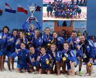 Στα θρανία οι παγκόσμιες πρωταθλήτριες του Beach Handball πέρασαν σε σχολές της αρεσκείας τους