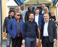 Στα σφαγεία Βέροιας ο υποψήφιος δήμαρχος Παύλος Παυλίδης
