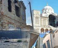 Σάμος : Δύο νεκρά παιδιά – Εικόνες καταστροφής από τον σεισμό και τα τρία κύματα τσουνάμι