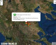 Νέος σεισμός 5 Ρίχτερ - Συνεχίζει να κουνιέται και η Ημαθία