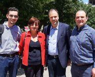 Ο πρόεδρος της ΔΗΜΑΡ και Υπουργός Τουρισμού Θανάσης Θεοχαρόπουλος στη Νάουσα