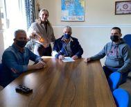 Στις τοπικές κοινότητες του Δήμου της Νάουσας ο Λάζαρος Τσαβδαρίδης