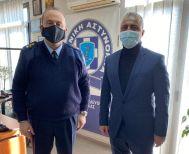 Ευχές στον νέο Αστυνομικό Διευθυντή της Ημαθίας έδωσε ο Λάζαρος Τσαβδαρίδης