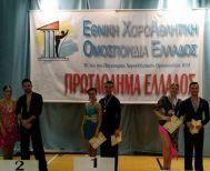 Δύο χρυσά μετάλλια για τον Βεροιώτη Νικόλαο Τσέγκο στο Πρωτάθλημα Αθλητικού Χορού Ελλάδος