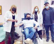 Βέροια: 20 φιάλες πολύτιμου αίματος, στην χθεσινή «μουσική» εθελοντική αιμοδοσία