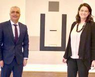 Τα φλέγοντα ζητήματα των εκπαιδευτικών έθεσε χθες ο Λ. Τσαβδαρίδης στην Υπουργό Παιδείας