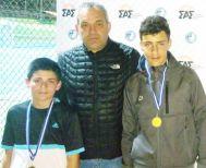 Καταπληκτική πορεία του Μιχάλη Πατσίκα στο Ε2 για αγόρια 14 στις Σέρρες