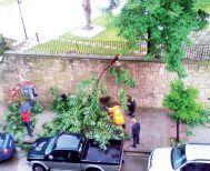 «Μας πήρε και μας σήκωσε» χθες το απόγευμα στη Βέροια