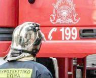 Φωτιά σε στρώματα χθες   σε αποθήκη του Κέντρου φιλοξενίας μεταναστών στην Αγ. Βαρβάρα