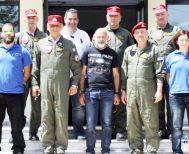 Εκπαιδευτική άσκηση για απεγκλωβισμό προσωπικού από ελικόπτερο στο στρατιωτικό αεροδρόμιο της Αλεξάνδρειας