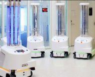 Φθάνουν στα νοσοκομεία Ελλάδας τα πρώτα ρομπότ απολύμανσης της ΕΕ
