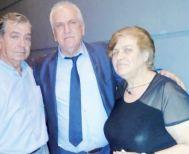 Ο Φώτης συναντήθηκε με τους γονείς  του φυλακισμένου στρατιωτικού Δ. Κούκλατζη