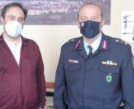 Εθιμοτυπική επίσκεψη του νέου Αστυνομικού Διευθυντή Ημαθίας στον Δήμαρχο Βέροιας