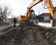 Εργασίες ασφαλτόστρωσης οδών σε περιοχές του Δήμου Αλεξάνδρειας