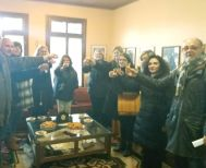 Μαθητική επίσκεψη   στο Σύλλογο Βλάχων Βέροιας   στο πλαίσιο του   προγράμματος Erasmus+