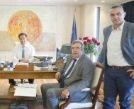 Δεσμεύσεις της κυβέρνησης για τον εμπορικό κόσμο στη συνάντηση της ΕΣΕΕ  με τον Άδωνη Γεωργιάδη