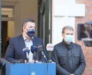 Μέτωπο Περιφερειάρχη και Υπουργού Προστασίας του Πολίτη  για την αντιμετώπιση της πανδημίας του κορονοϊού