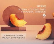 Το 2022, το 10ο Παγκόσμιο Επιστημονικό Συνέδριο Ροδακινιάς στην Ημαθία
