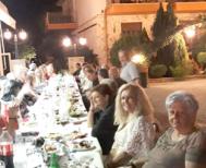 «Αργοναυτικό» παρακάθι της Ευξείνου Λέσχης Βέροιας   μετά το οδοιπορικό στις αλησμόνητες πατρίδες
