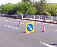 Κυκλοφοριακές ρυθμίσεις στο τμήμα Πολυμύλου - Βέροιας για εγκατάσταση φωτιζόμενων πινακίδων