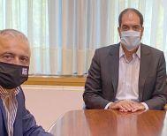 Για τη οδική ασφάλεια και τις θέσεις των Εκπαιδευτών Οδήγησης της Ημαθίας συζήτησε ο Λ. Τσαβδαρίδης με τον Υφ. Γιάννη Κεφαλογιάννη