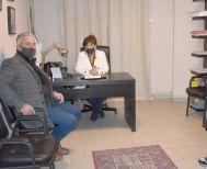 Με εκπροσώπους των Κοινοτήτων Δήμου Νάουσας, συναντήθηκε η βουλευτής Φρόσω Καρασαρλίδου