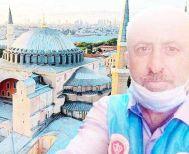 Καρδιακή προσβολή ο Μουεζίνης μέσα στην Αγιά - Σοφιά, λίγες μέρες μετά την μετατροπή της σε τζαμί!