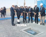 Θεμελιώθηκε ο νέος τερματικός σταθμός   στο αεροδρόμιο Μακεδονία, στη Θεσσαλονίκη
