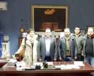 Συνάντηση γνωριμίας του Αγροτικού Συλλόγου Ημαθίας με τον Αντιπεριφερειάρχη