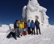Βόρας 2524μ. - Πορεία στο χιόνι με τους Ορειβάτες Βέροιας