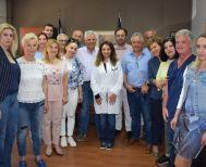 Επίσκεψη του Υπ. Δημάρχου Βέροιας Κων/νου Βοργιαζίδη σε Νοσοκομείο Βέροιας, Δικαστήρια, υποκατάστημα ΕΛΓΑ, ΟΑΕΔ και Κ.Υ. Βέροιας
