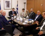 Σύσκεψη Λ. Αυγενάκη με τους φορείς του ποδοσφαίρου για την αντιμετώπιση της βίας