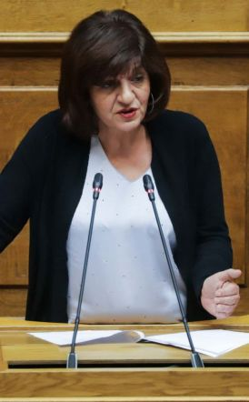 Ομιλία της βουλευτή Φρόσως Καρασαρλίδου σχετικά με το νομοσχέδιο για το πτωχευτικό δίκαιο.