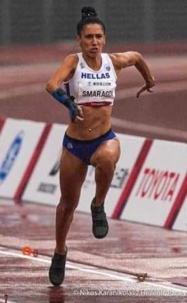 Στην 6η θέση η Στέλα Σμαραγδή στους παρολυμπιακούς του Τόκιο.