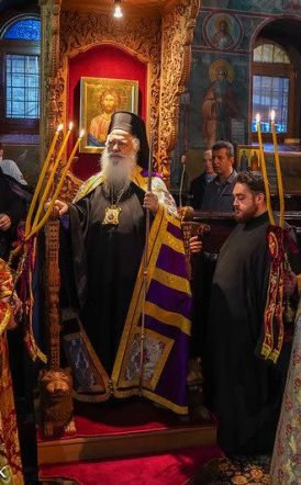 Η γιορτή του Αγίου Γρηγορίου του Παλαμά στην Μονή Τιμίου Προδρόμου Σκήτης Βέροιας -  Χειροτονία Διακόνου (φωτό)