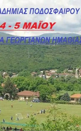 Τουρνουά Ακαδημίας Ποδοσφαίρου Βέροιας (4-5/5 Μαίου 2019)